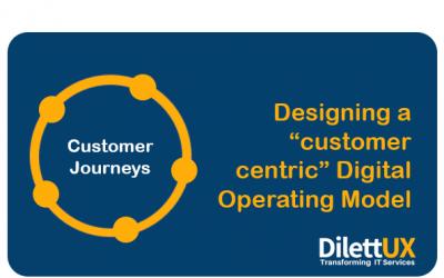 Diseñando un Modelo de Operación Digital centrado en el cliente