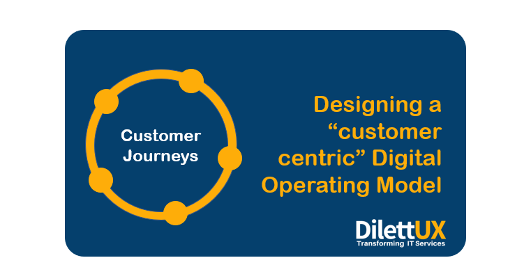 Designing a Customer-centric Digital Operating Model