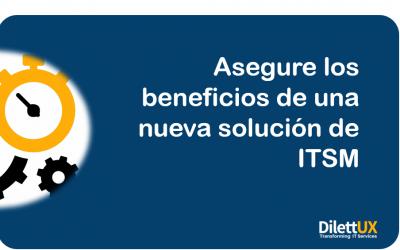 Como implementar una solución de ITSM